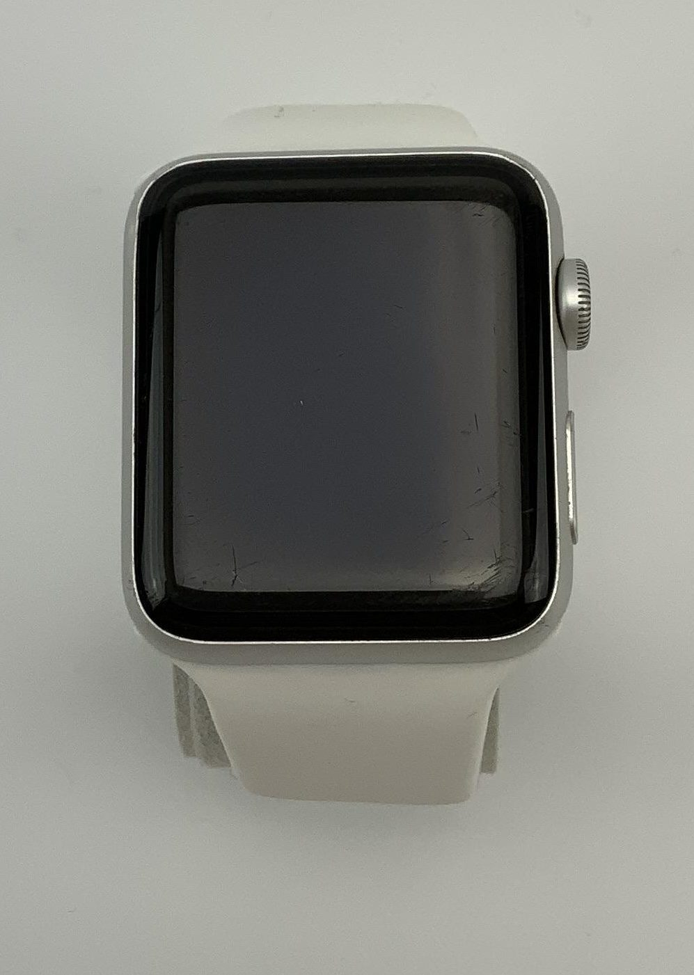 Watch Series 3 Aluminum Cellular (42mm), Space Gray, Black Sport Band, image 1