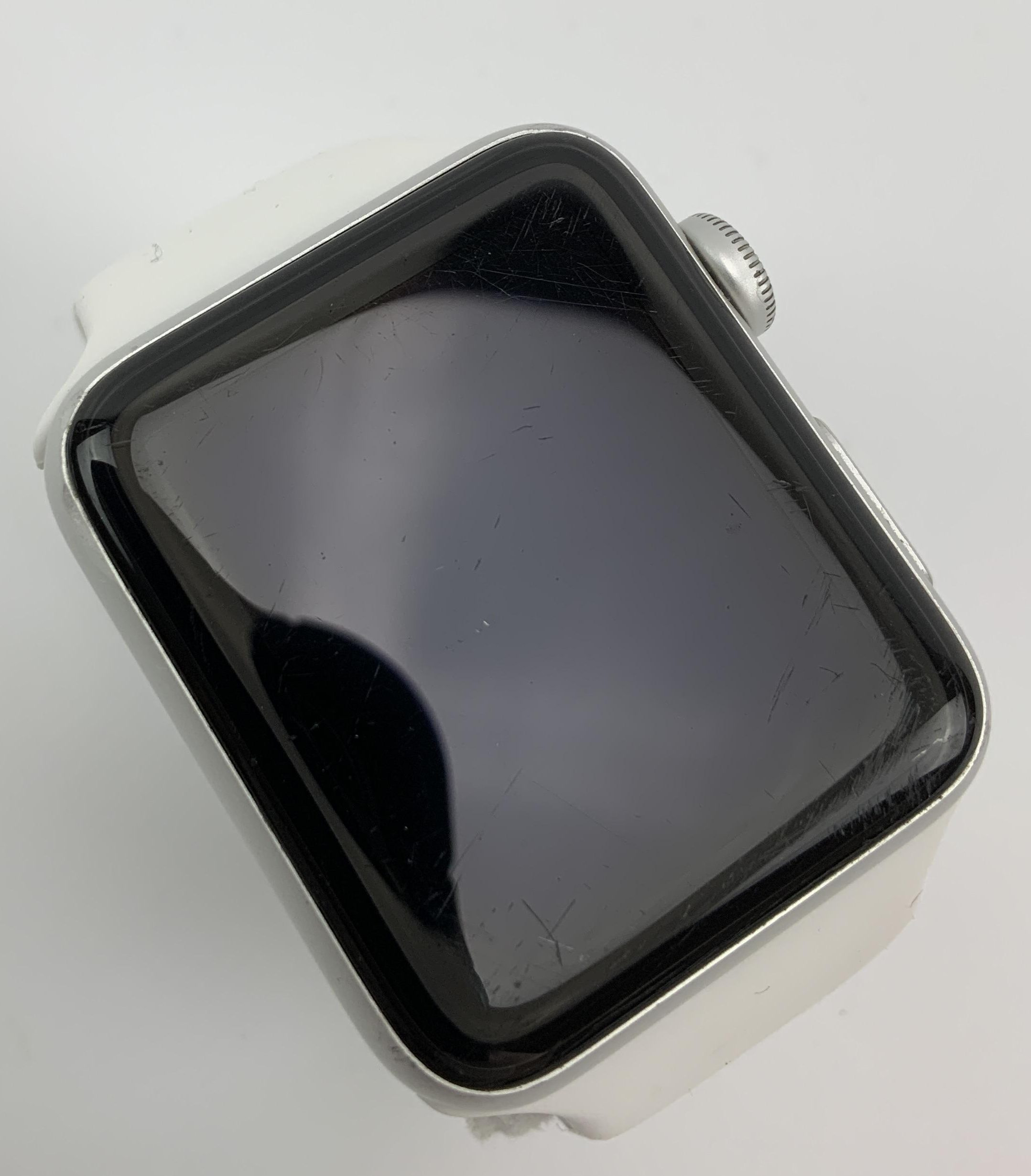 Watch Series 3 Aluminum Cellular (42mm), Space Gray, Black Sport Band, image 2
