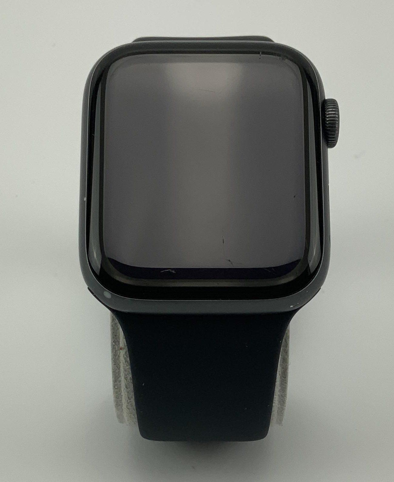 Watch Series 4 Aluminum (44mm), Space Gray, Black Sport Band, Kuva 1