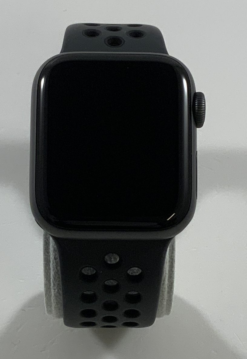 Watch Series 4 Aluminum Cellular (40mm), Space Gray, Anthracite/Black Nike Sport Band, Afbeelding 1