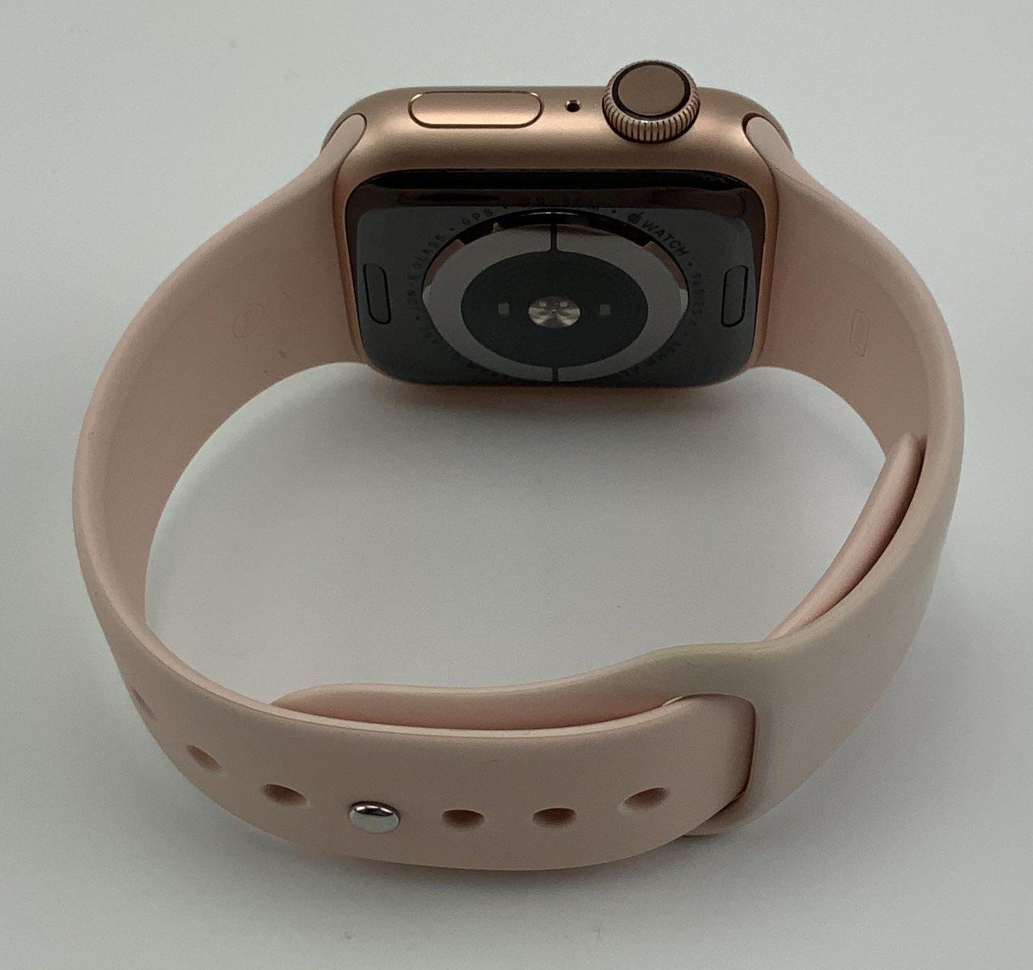 Watch Series 4 Aluminum Cellular (40mm), Gold, Pink Sand Sport Loop, bild 4
