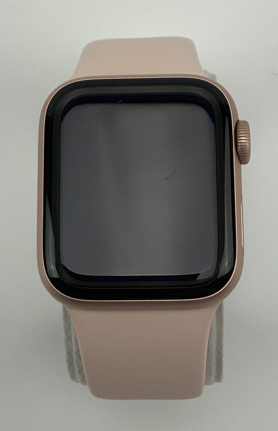 Watch Series 4 Aluminum Cellular (40mm), Gold, Pink Sand Sport Loop, bild 1