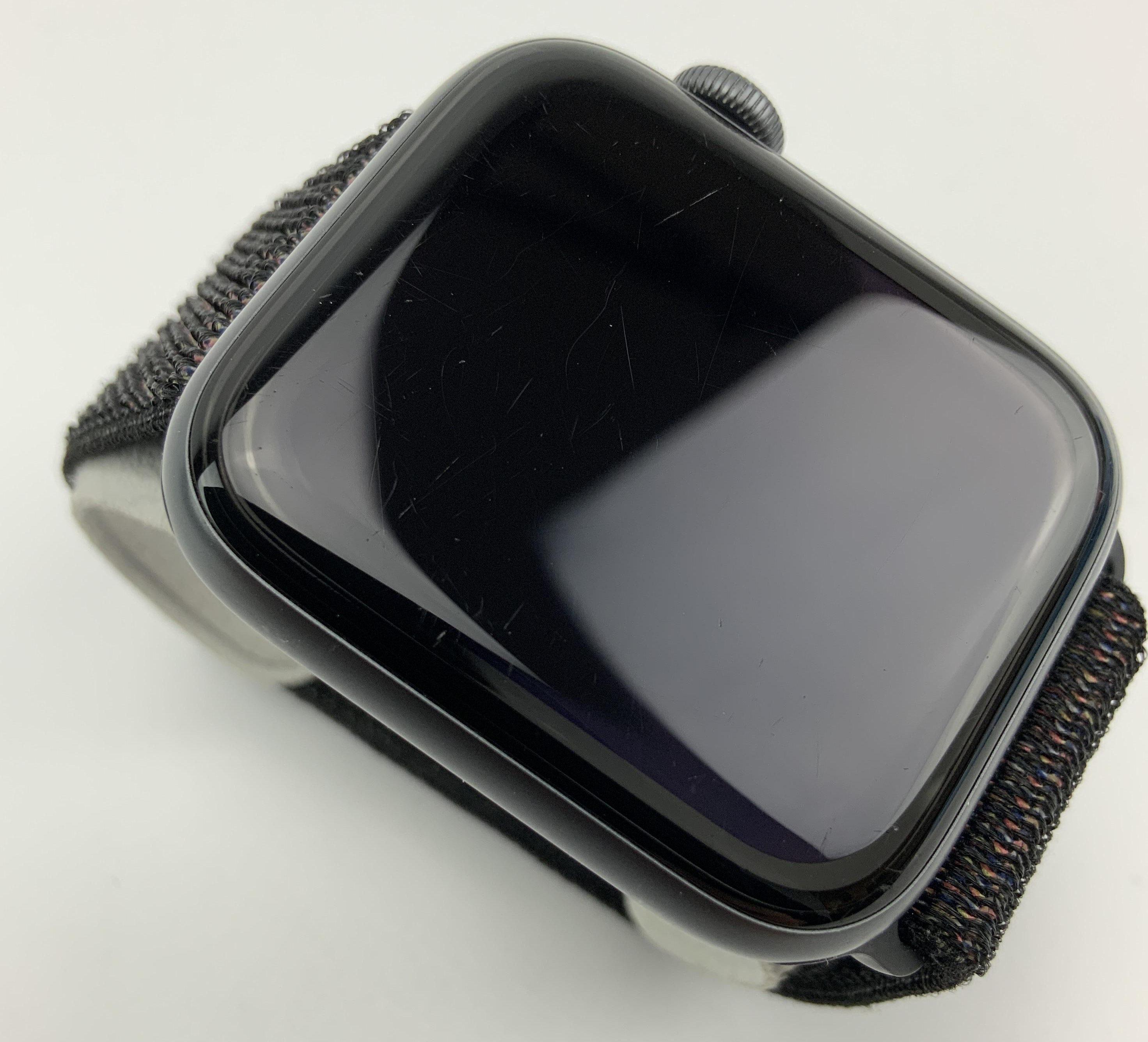 Watch Series 4 Aluminum Cellular (44mm), Space Gray, Black Sport Loop, bild 3