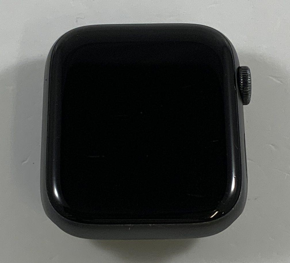 Watch Series 4 Aluminum Cellular (44mm), Space Gray, Black Sport Loop, image 1