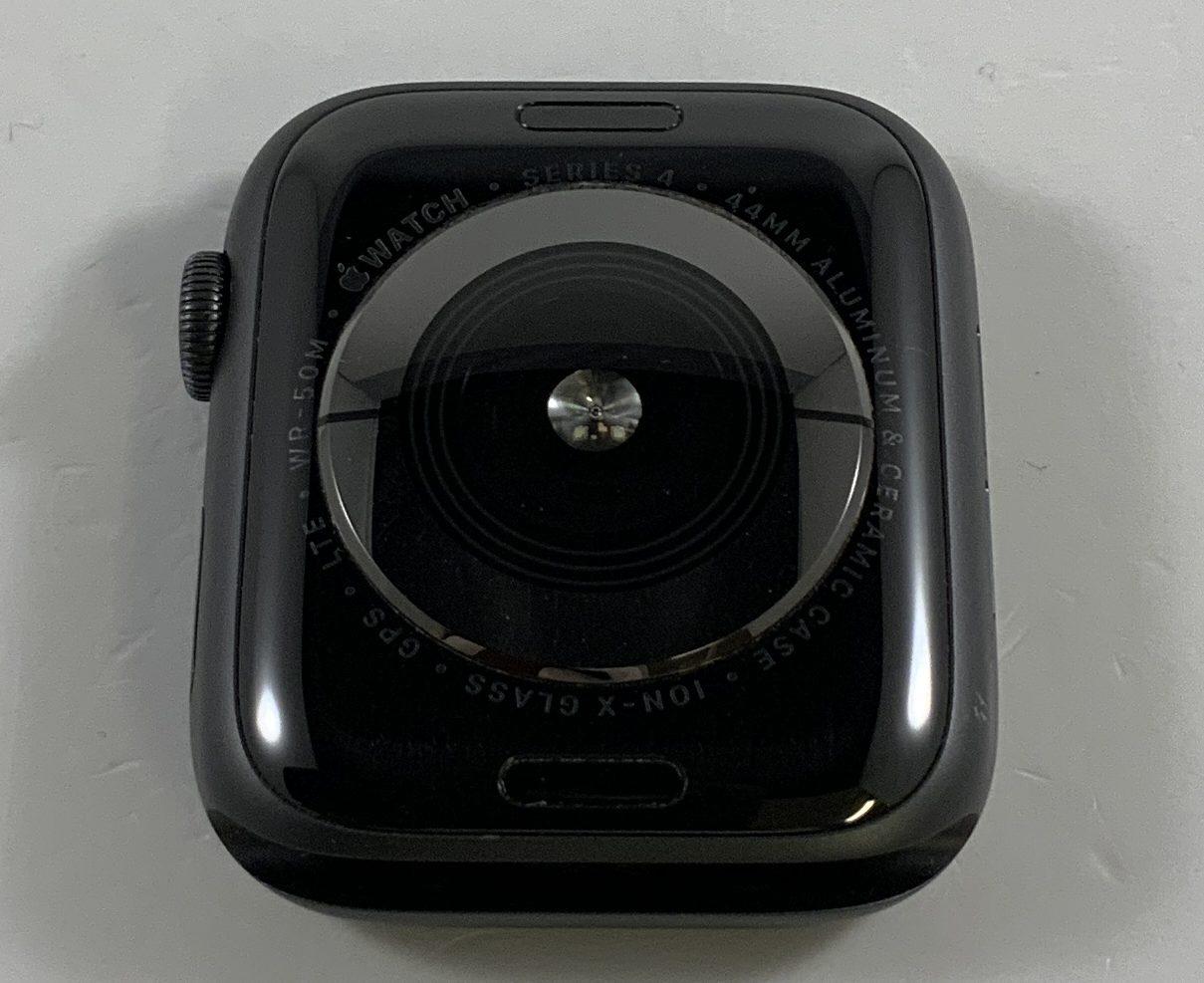 Watch Series 4 Aluminum Cellular (44mm), Space Gray, Black Sport Loop, image 2
