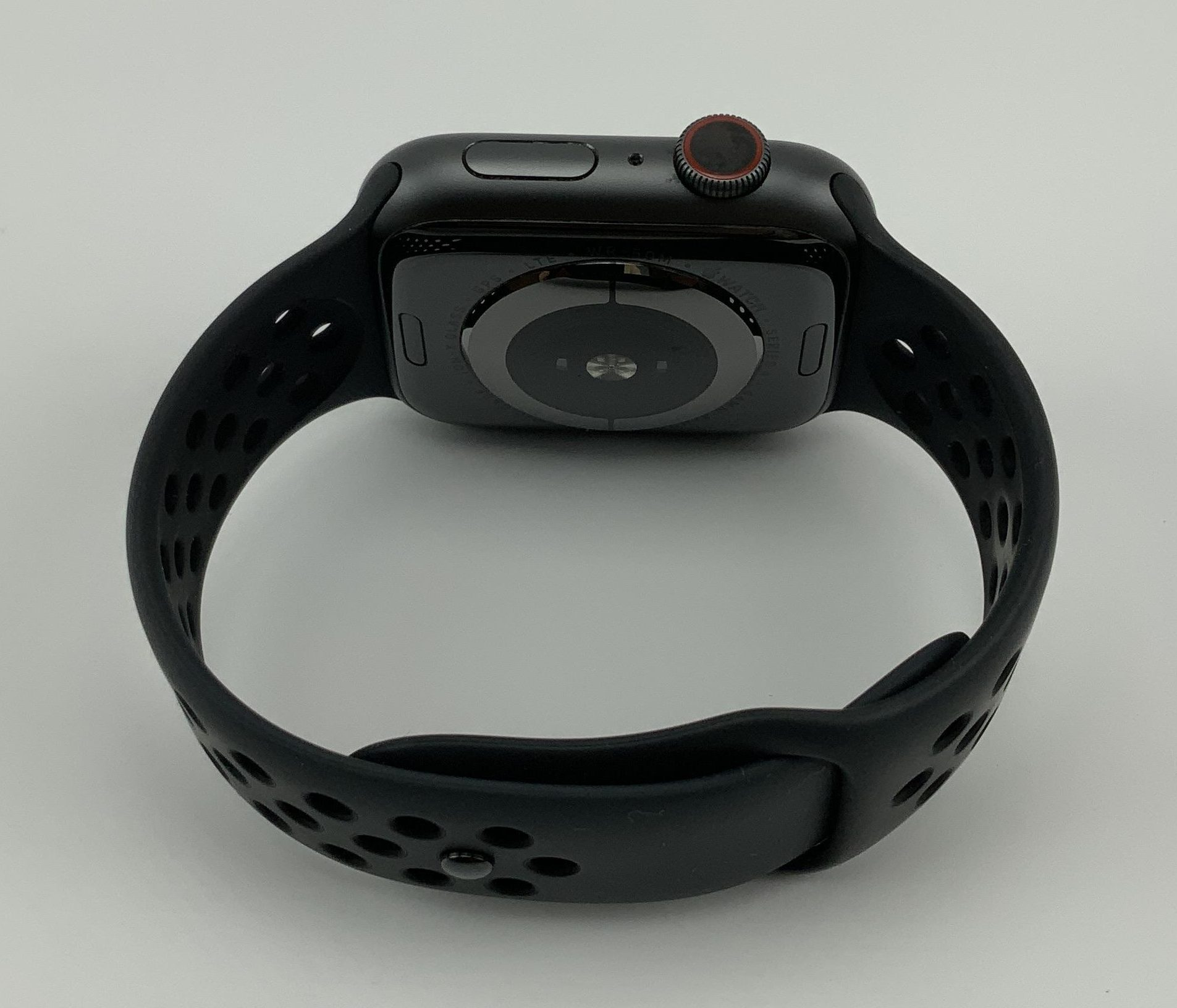 Watch Series 4 Aluminum Cellular (44mm), Space Gray, Anthracite/Black Nike Sport Band, bild 2