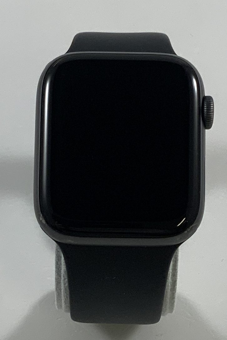 Watch Series 4 Aluminum Cellular (44mm), Space Gray, Black Sport Band, Kuva 1
