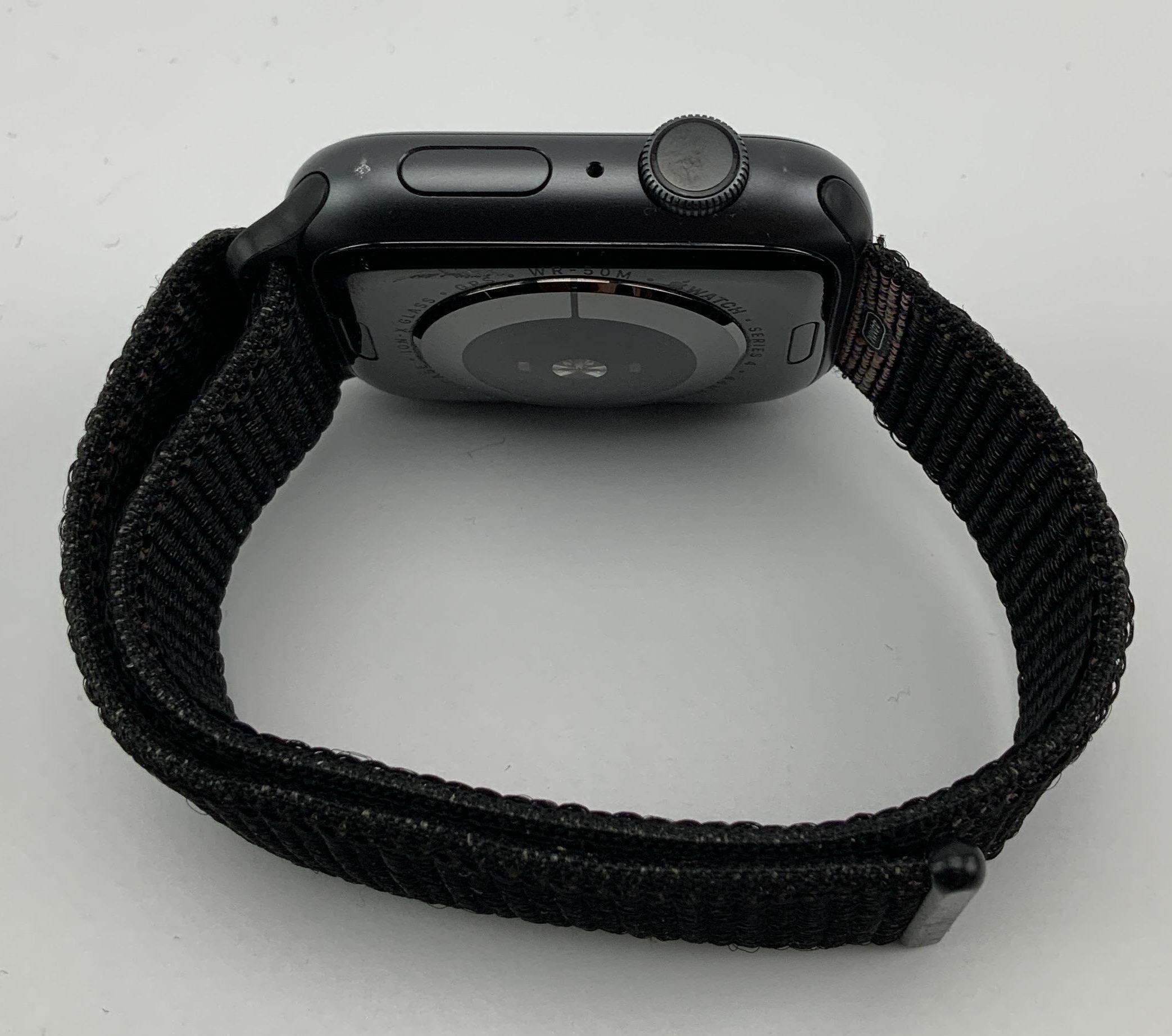 Watch Series 4 Aluminum Cellular (44mm), Space Gray, Black Sport Loop, bild 4