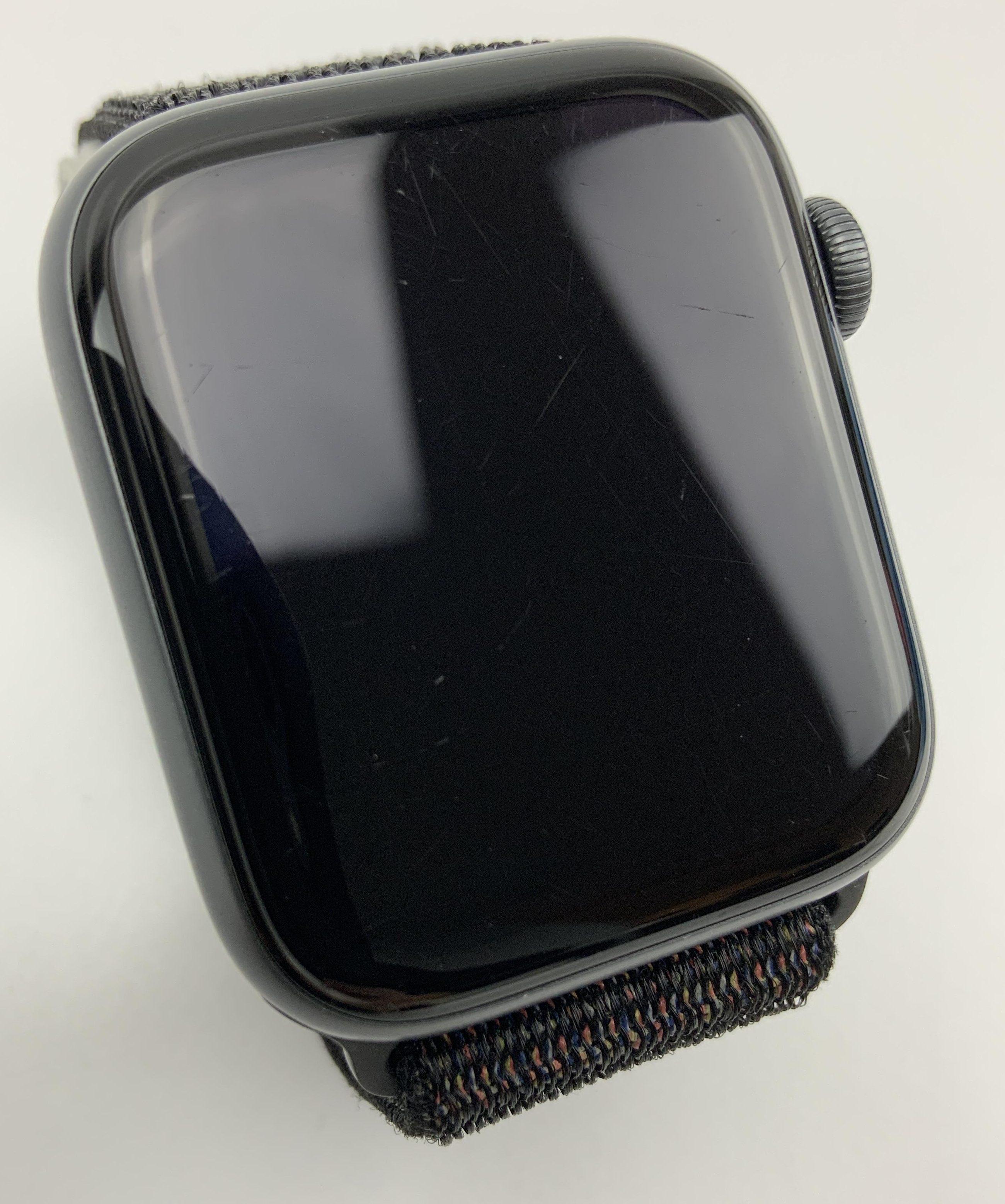 Watch Series 4 Aluminum Cellular (44mm), Space Gray, Black Sport Loop, bild 2