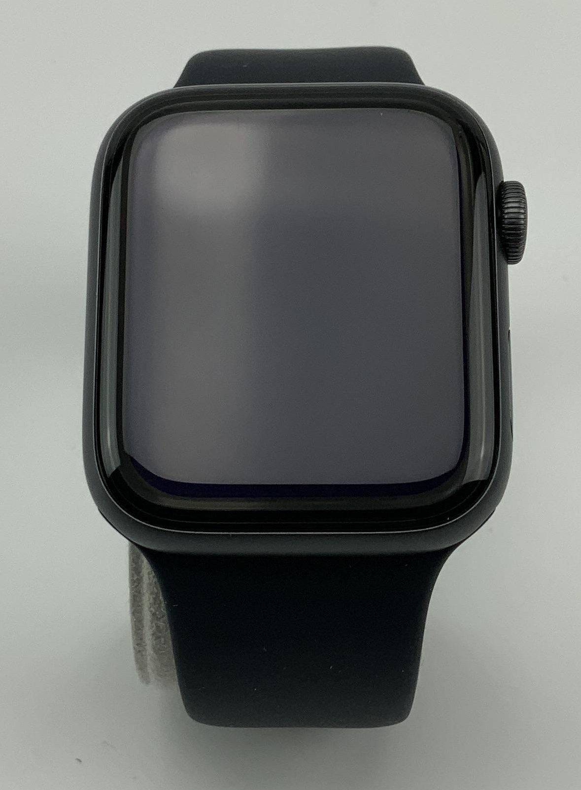Watch Series 4 Aluminum Cellular (44mm), Space Gray, Black Sport Band, imagen 1
