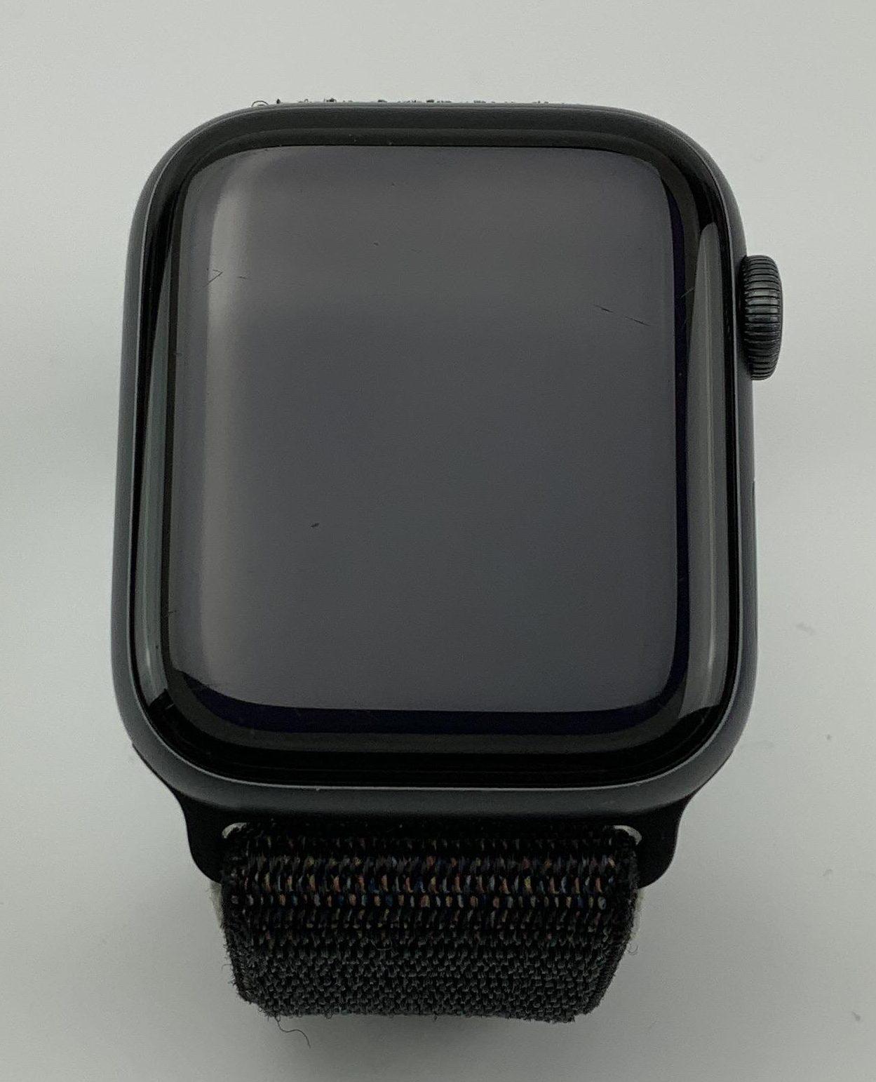 Watch Series 4 Aluminum Cellular (44mm), Space Gray, Black Sport Loop, bild 1