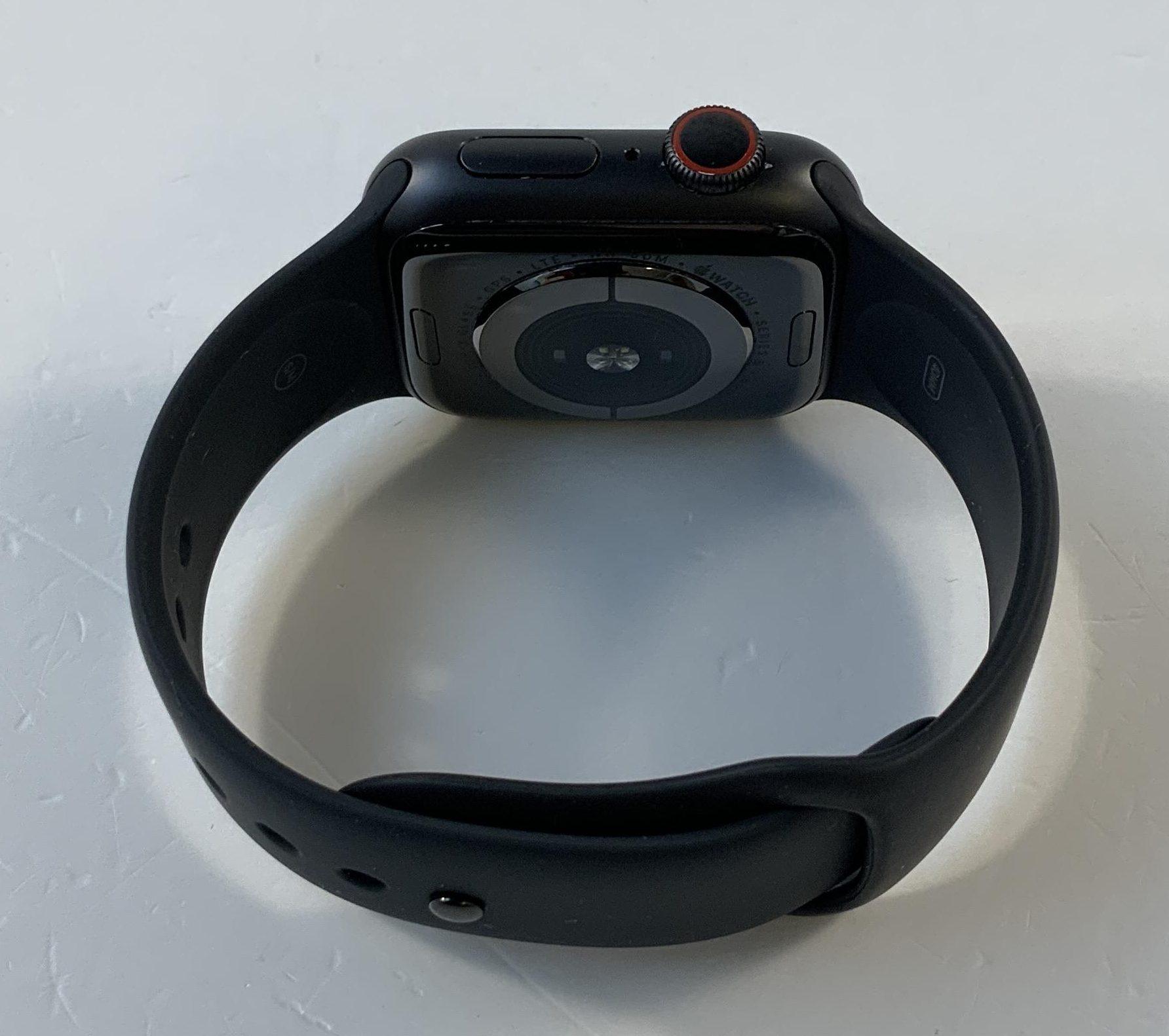 Watch Series 4 Steel Cellular (40mm), Space Gray, Black Sport Band, bild 2