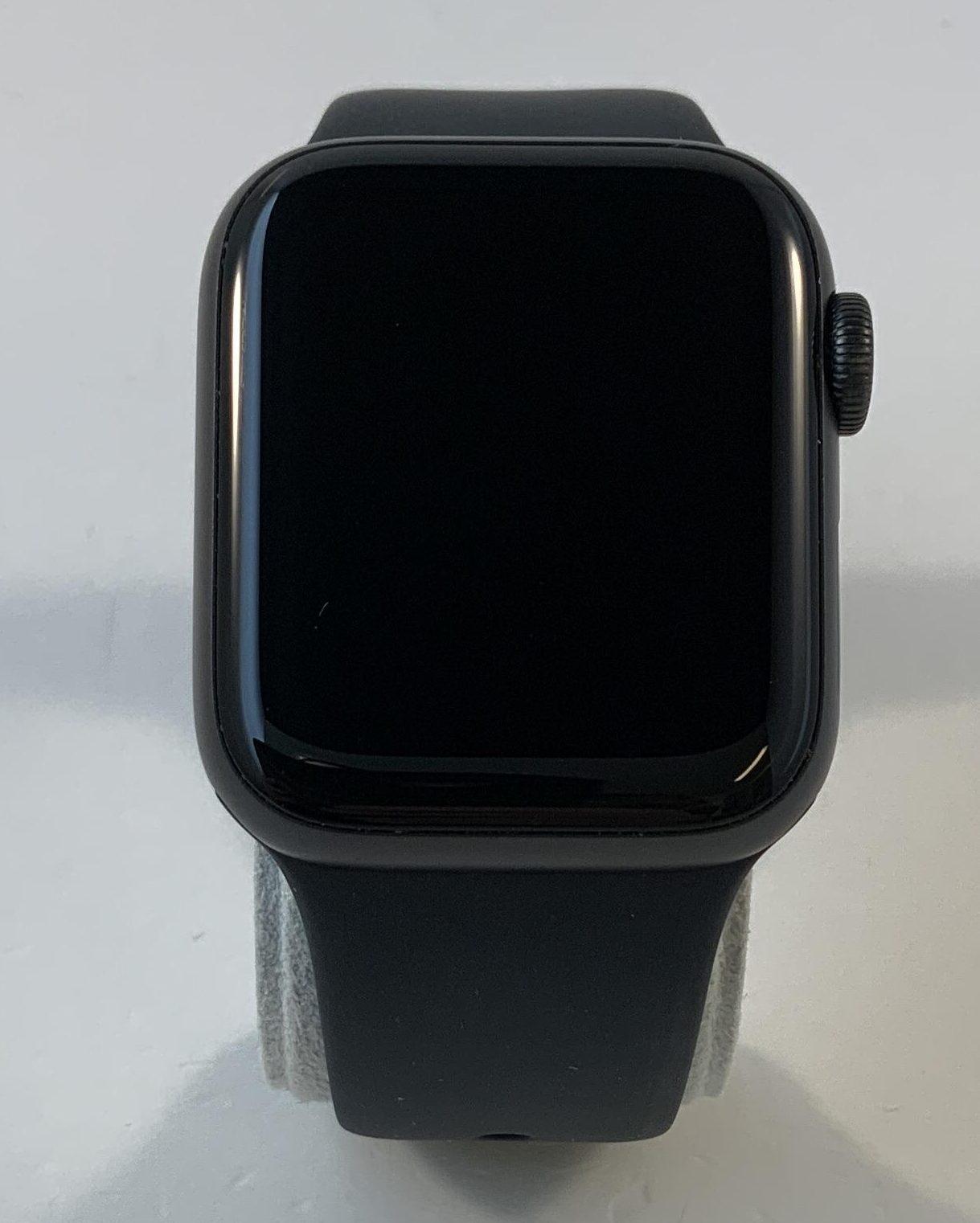 Watch Series 4 Steel Cellular (40mm), Space Gray, Black Sport Band, bild 1