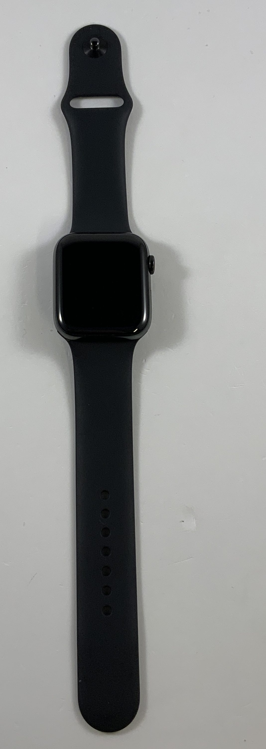 Watch Series 4 Steel Cellular (44mm), Space Gray, Black Sport Band, Afbeelding 1