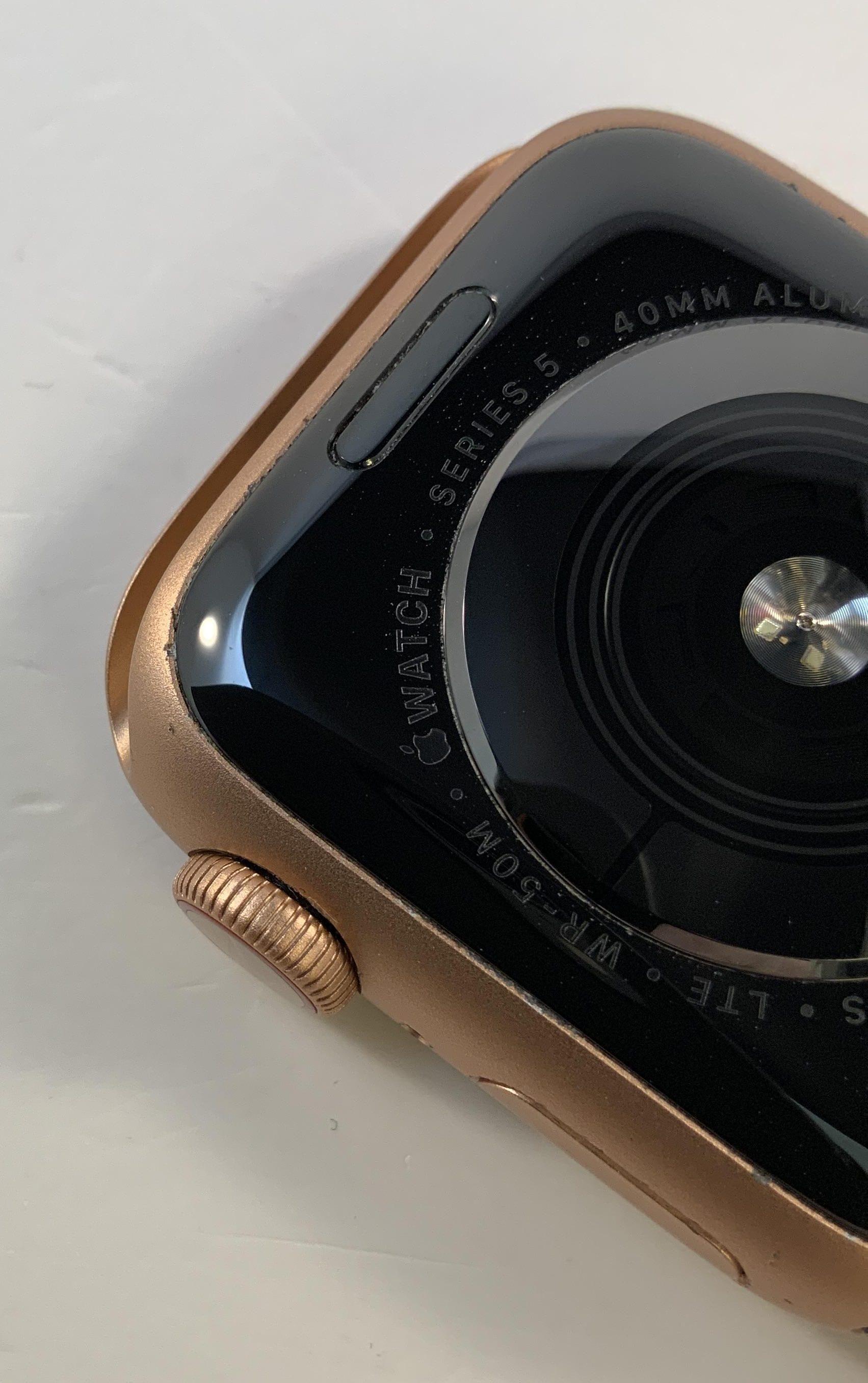 Watch Series 5 Aluminum Cellular (40mm), Gold, bild 4