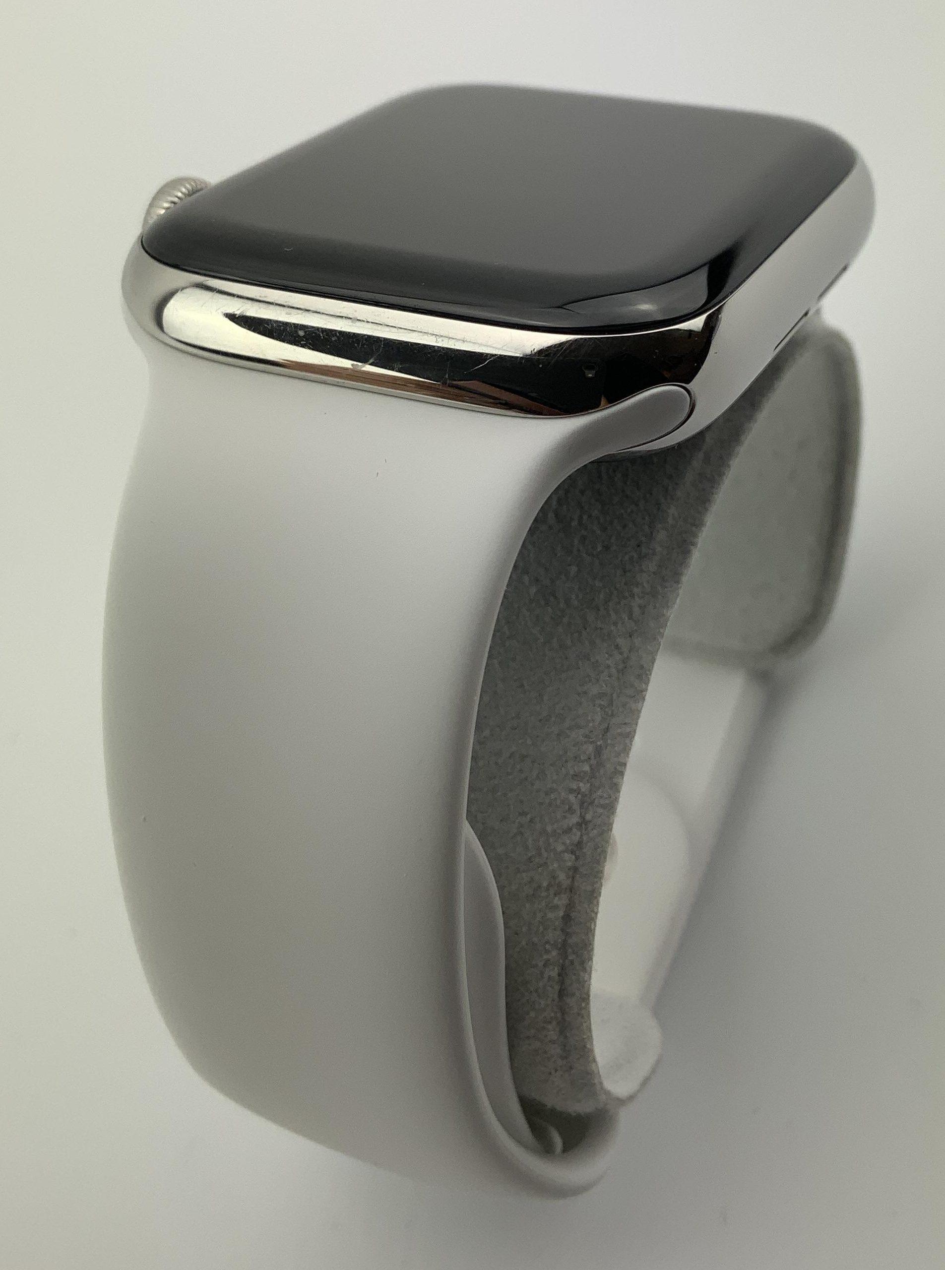 Watch Series 5 Steel Cellular (44mm), Silver, immagine 4