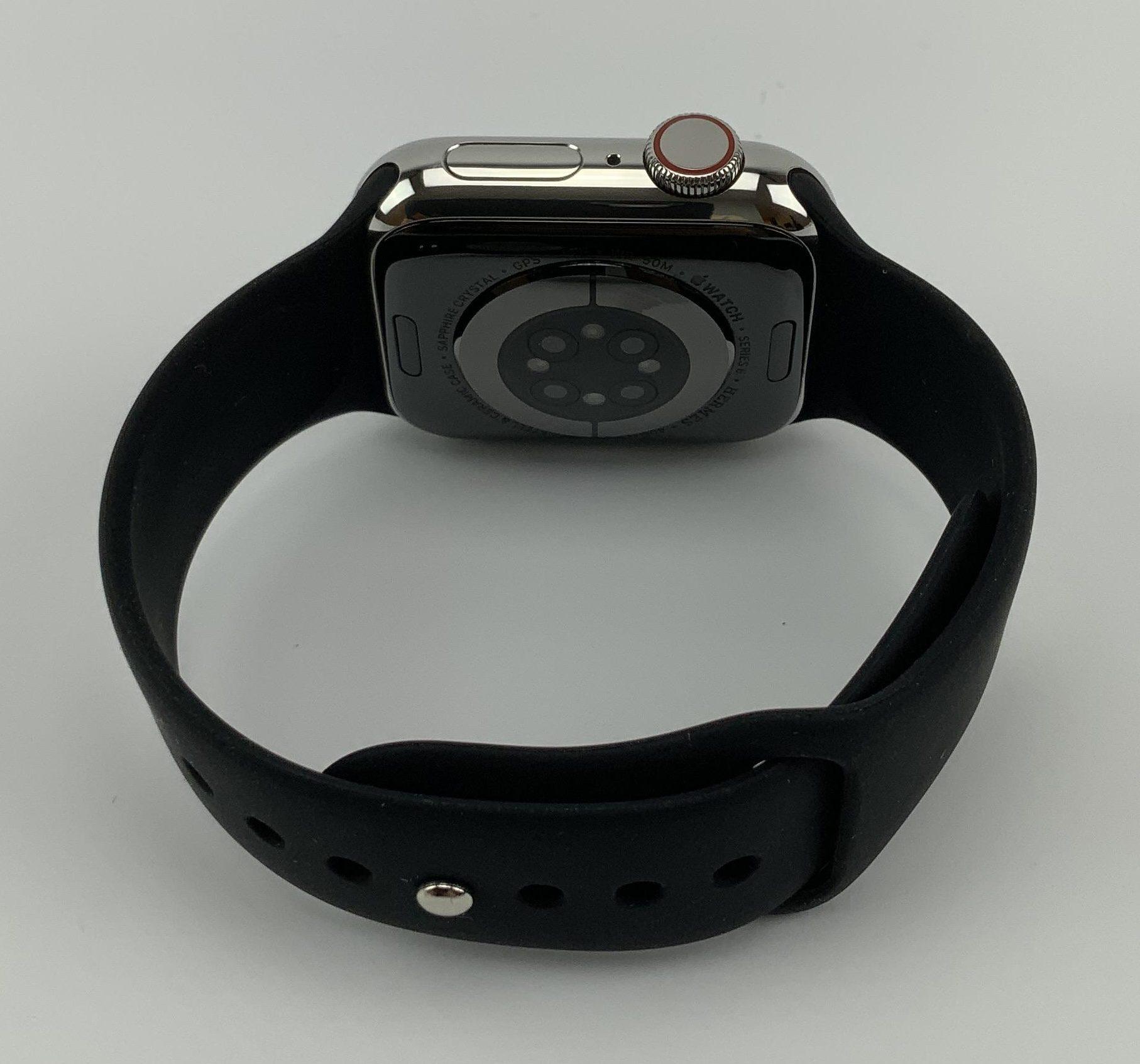 Watch Series 6 Steel Cellular (40mm), Silver, imagen 2