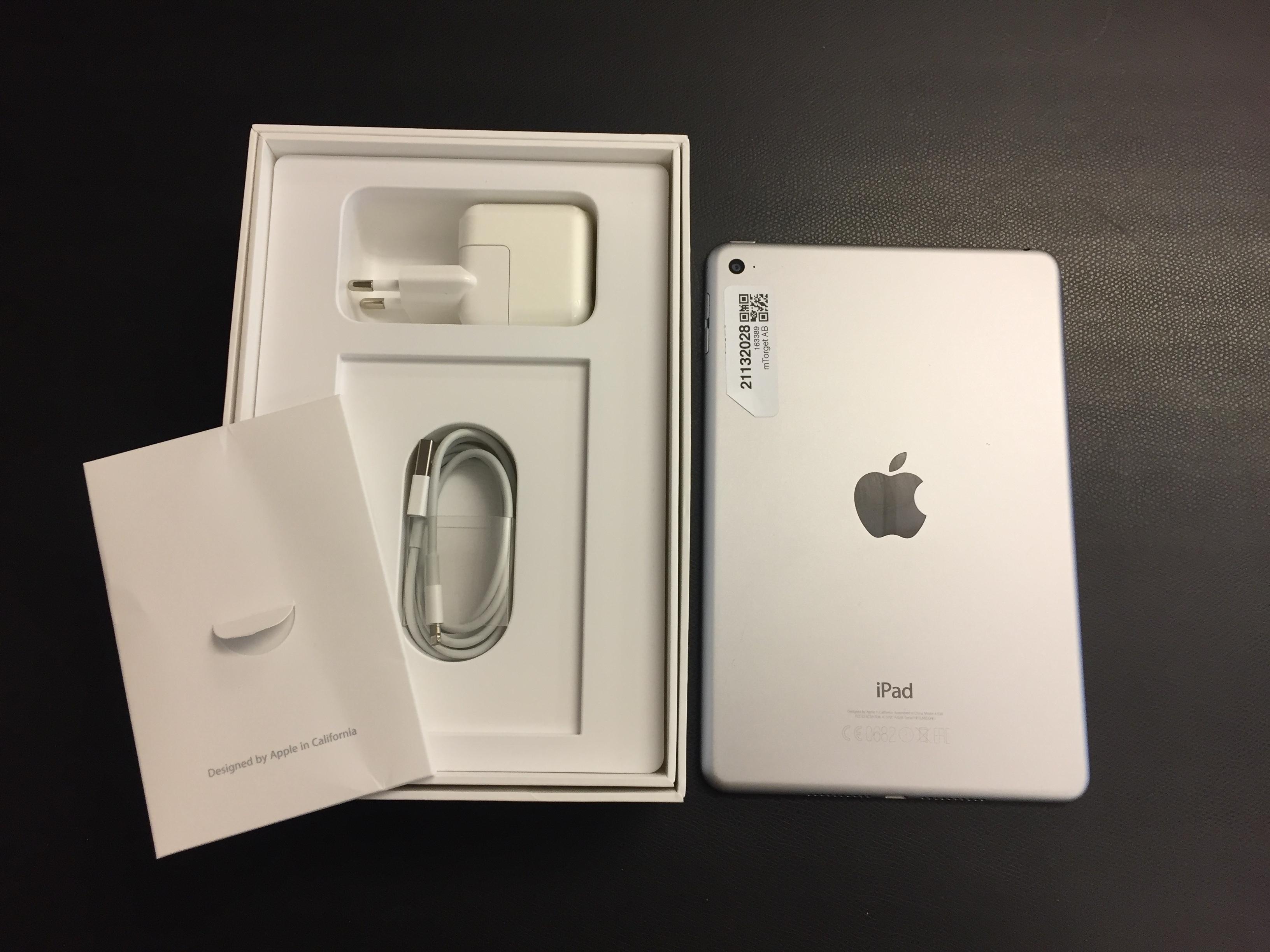 iPad mini 4 Wi-Fi 128GB, 128GB, Gray, bild 2