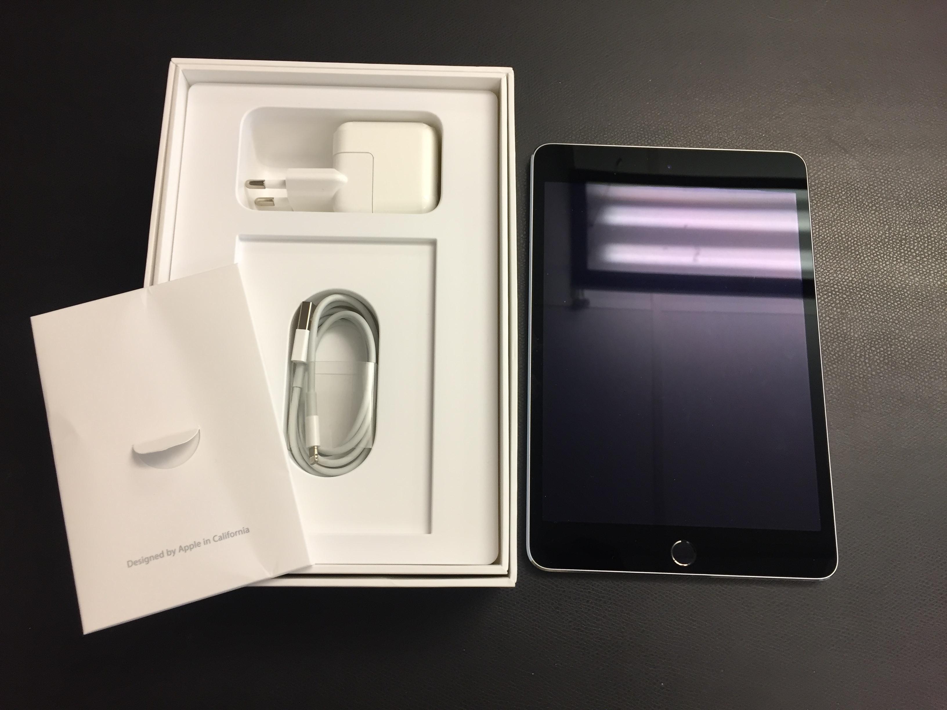 iPad mini 4 Wi-Fi 128GB, 128GB, Gray, bild 1
