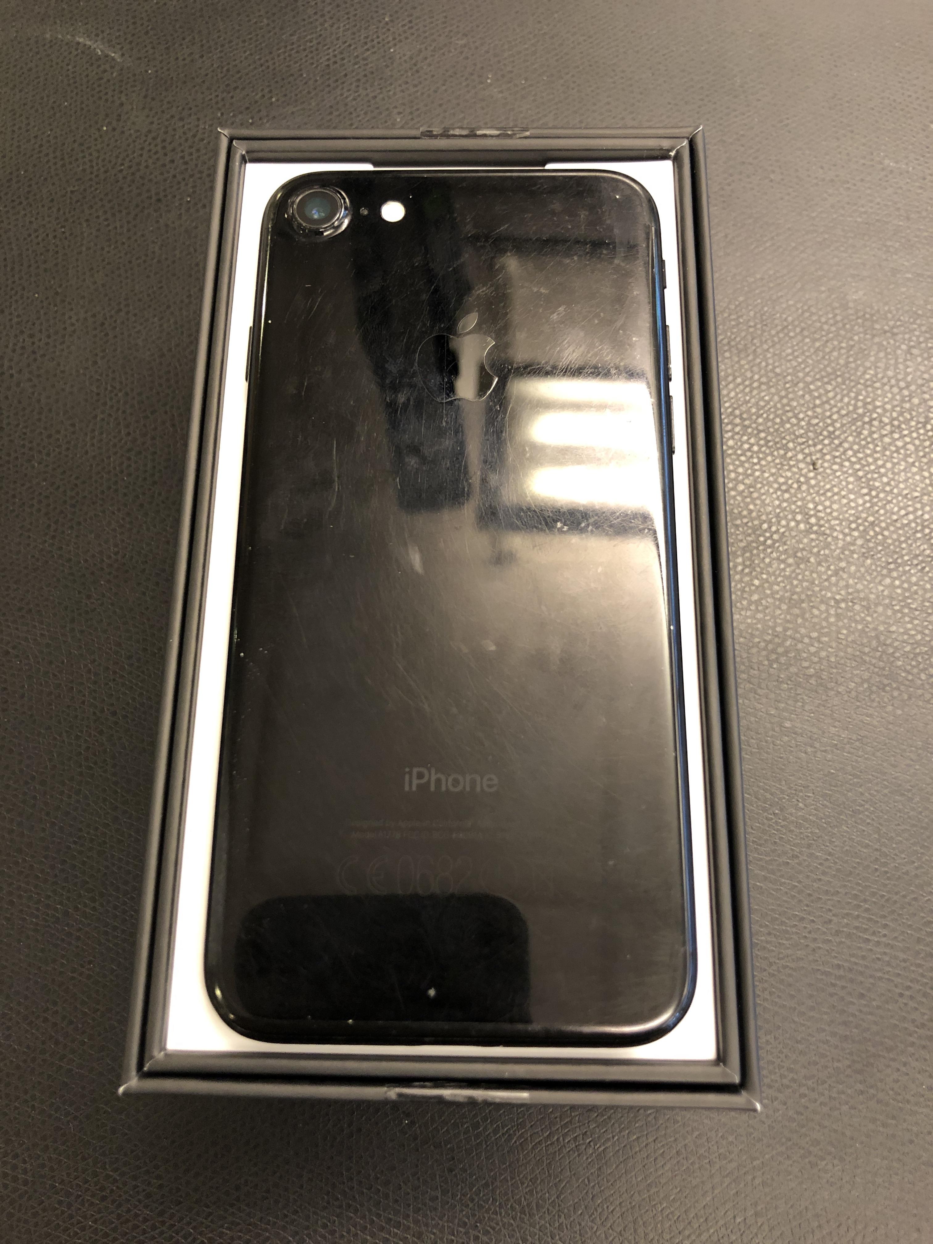 iPhone 7 128GB, 128GB, Jet Black, bild 2