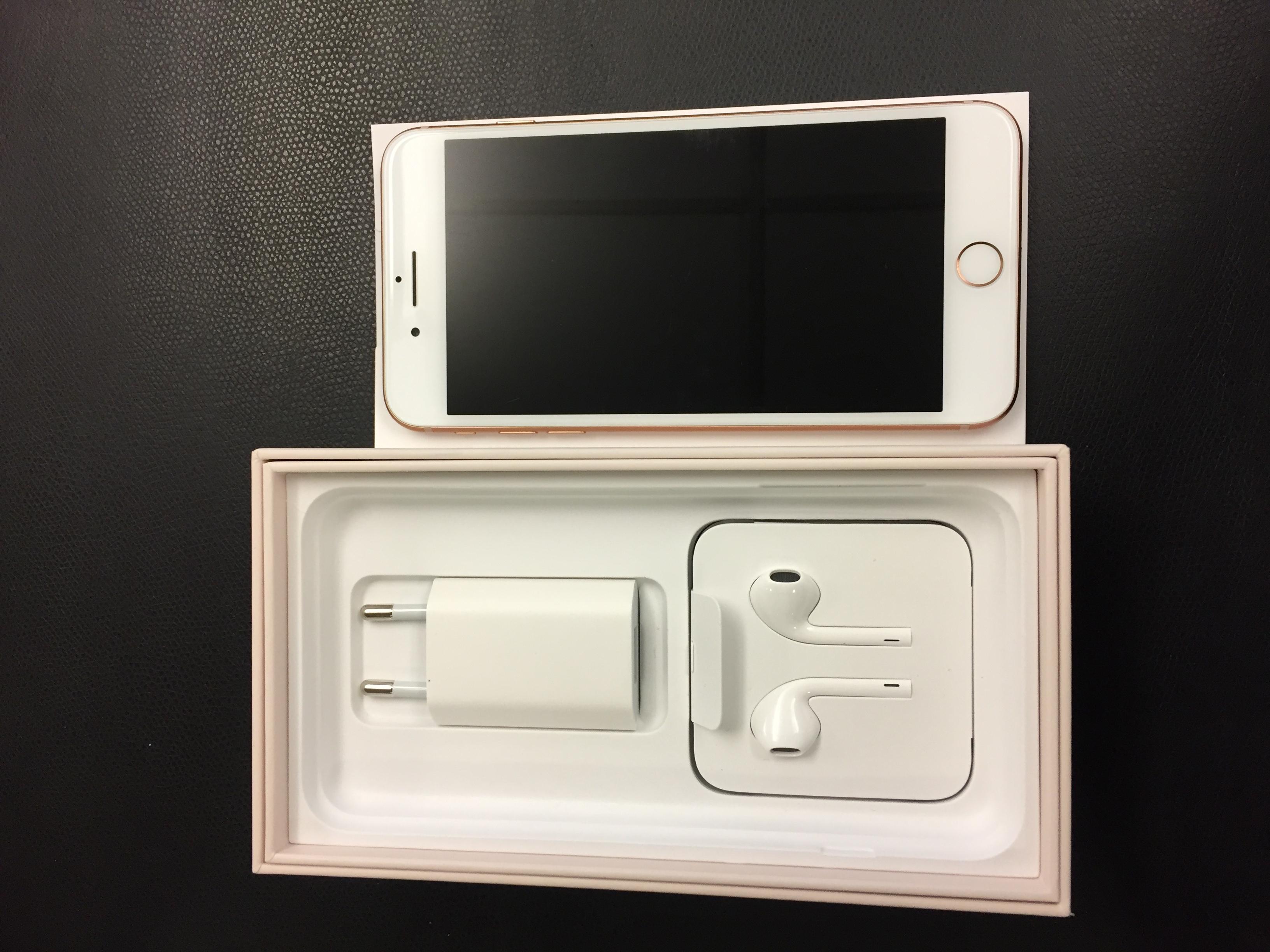 iPhone 8 Plus 256GB, 256GB, Gold, bild 1